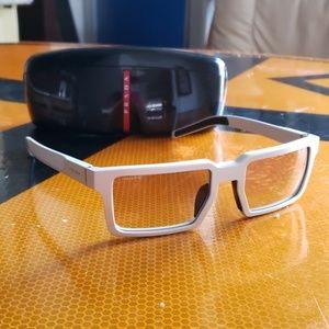 Prada  PRADA Sunglasses PR 50SS UEF4P2 Brushed Alu